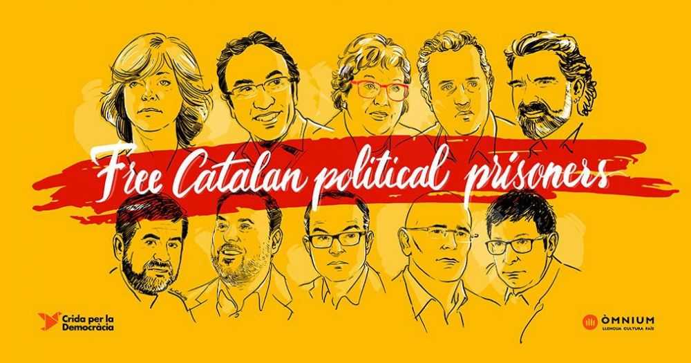 No fair trial for Catalan political prisoners