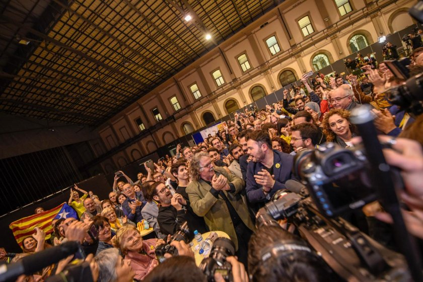 ERC wins Spanish Parliament election for the first time in Catalonia