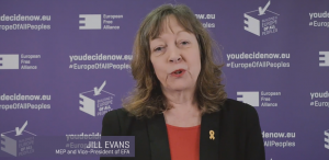 EFA Vice President Jill Evans - Wales and Europe