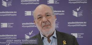 President of EFA Group J. M. Terricabras -