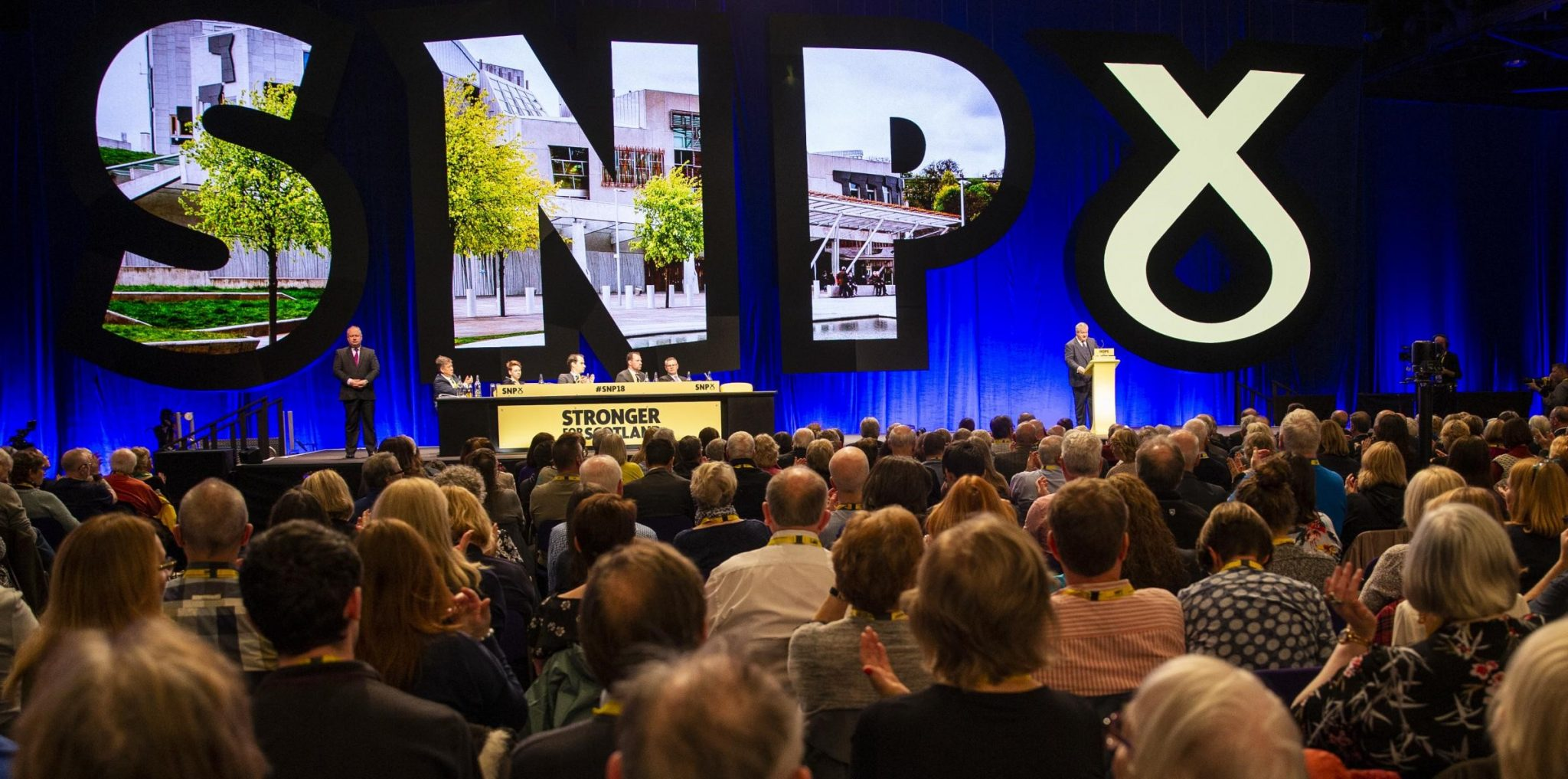 SNP Conference endorses Scotland's case for an independent nation within the EU