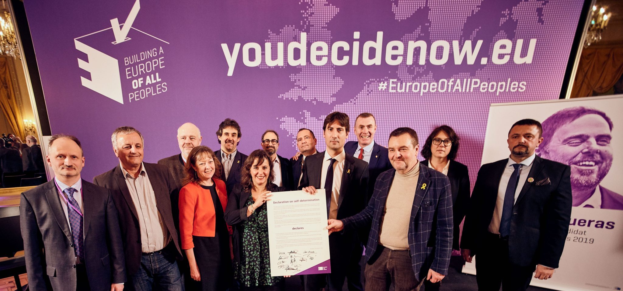 EFA parties win 12 seats at European Parliament elections
