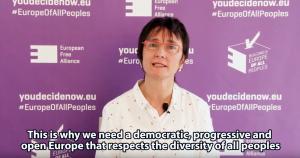 EFA President Lorena López de Lacalle - European Elections 2019