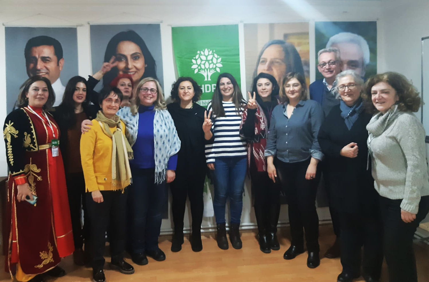 EFA representatives attend pro-Kurdish People's Democratic Party HDP 4th Congress
